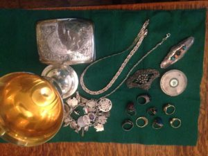 sterling-silver-hollowware and jewelry