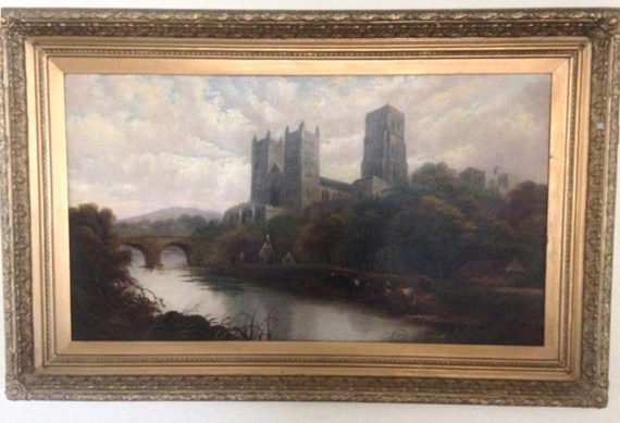 vintage antique paintings