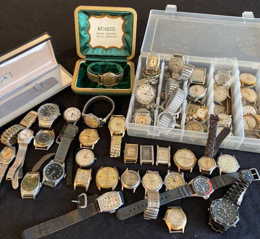 buyer of vintage wrist watches virginia beach